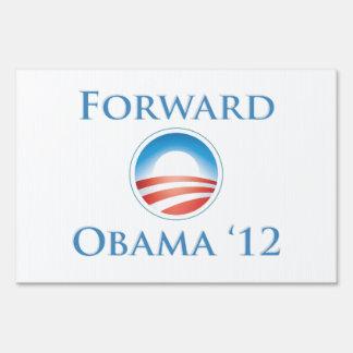 Obama 2012 - Forward Yard Sign