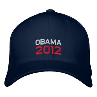 Obama 2012 gorro bordado