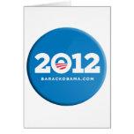 Obama 2012 greeting cards