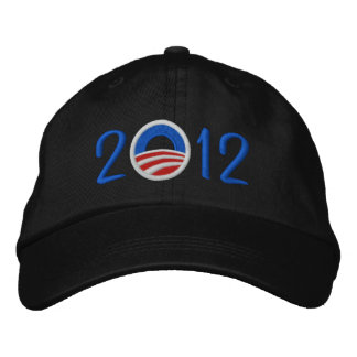 Obama 2012 Hat Embroidered Baseball Caps