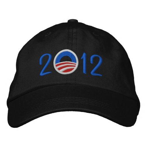 Obama 2012 Hat Embroidered Baseball Cap
