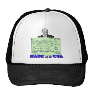 Obama 2012 hizo en los E.E.U.U. Gorro De Camionero