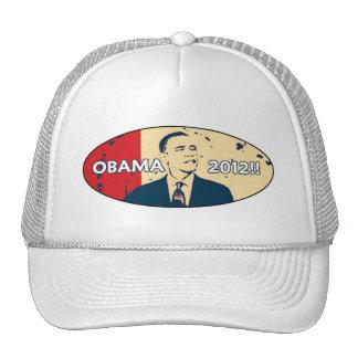 OBAMA 2012 HOPE DESIGN TRUCKER HAT