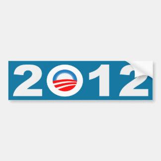 Obama 2012 Icon Bumper Sticker Car Bumper Sticker