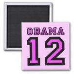 Obama 2012 imán de frigorifico