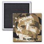 Obama 2012 imán para frigorífico