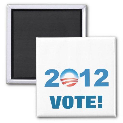 Obama 2012 imanes