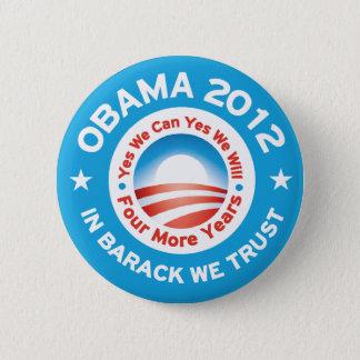 Obama 2012 - In Barack We Trust Button
