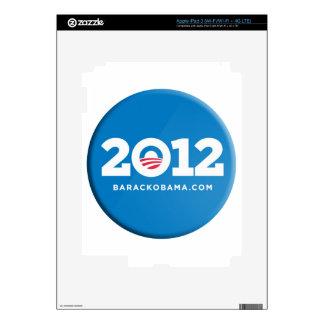 Obama 2012 iPad 3 decals