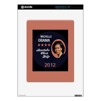 Obama 2012 iPad decal