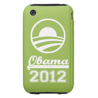 OBAMA 2012 iPhone 3 Tough Case-Mate apple