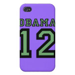 Obama 2012 iPhone 4 carcasas