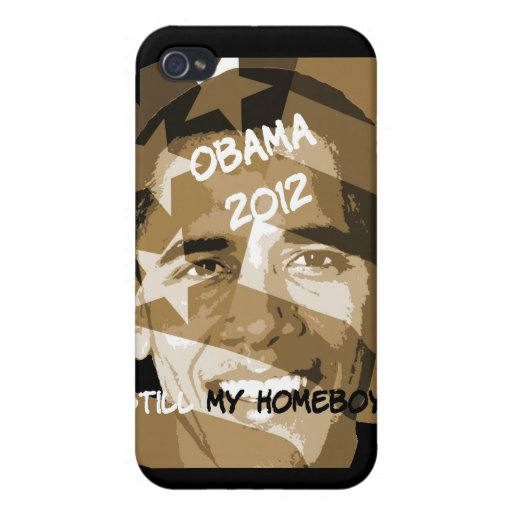 Obama 2012 iPhone 4 protector