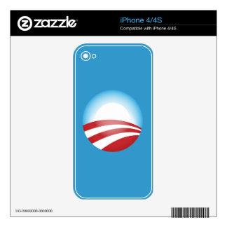 Obama 2012 iPhone 4 skins