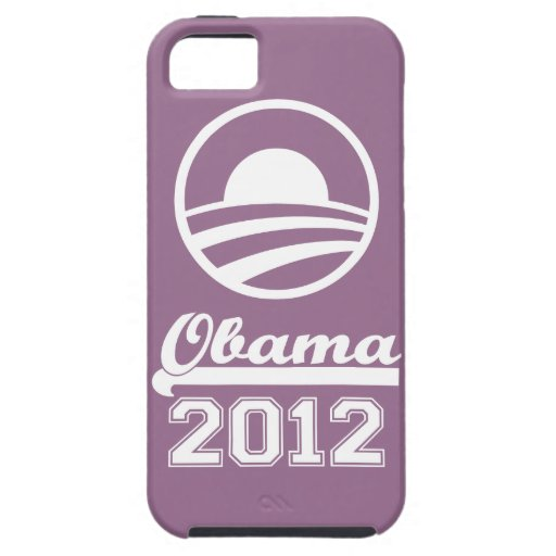 OBAMA 2012 iPhone 5 Tough Case-Mate (lilac) iPhone 5 Cases