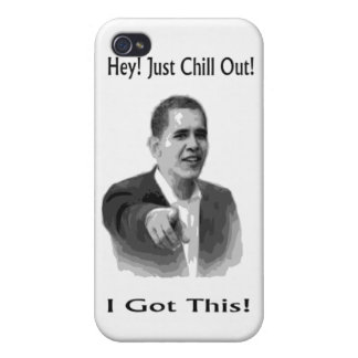 Obama 2012 cover for iPhone 4