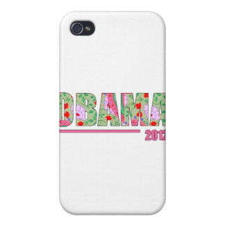 OBAMA 2012 iPhone 4/4S COVER