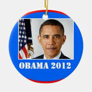 obama 2012.jpg ceramic ornament
