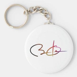 Obama 2012 basic round button keychain