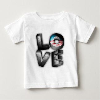 Obama 2012 L-O-V-E Baby T-Shirt