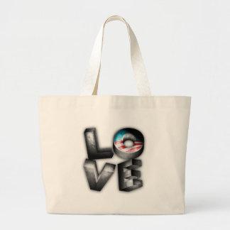 Obama 2012 L-O-V-E Canvas Bags