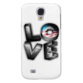 Obama 2012 L-O-V-E Galaxy S4 Cover