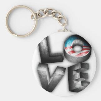 Obama 2012 L-O-V-E Key Chain