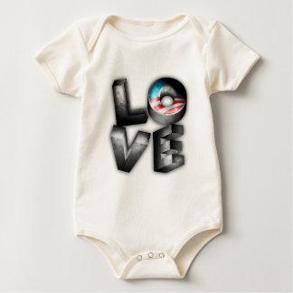 Obama 2012 L-O-V-E Rompers