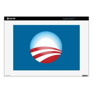 Obama 2012 laptop skin