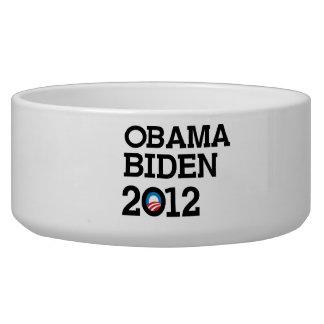 OBAMA 2012 LAYERS -.png Dog Food Bowl