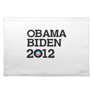 OBAMA 2012 LAYERS -.png Cloth Placemat