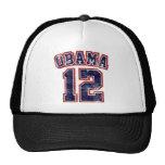 obama 2012 light shirt mesh hats