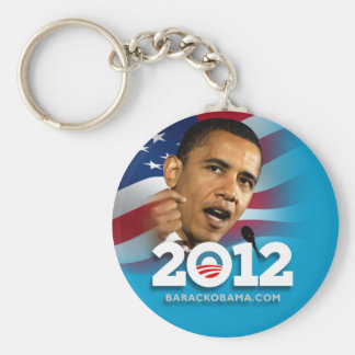 Obama 2012 llavero redondo tipo pin