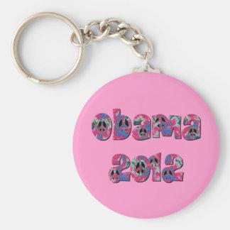 Obama 2012 llaveros personalizados
