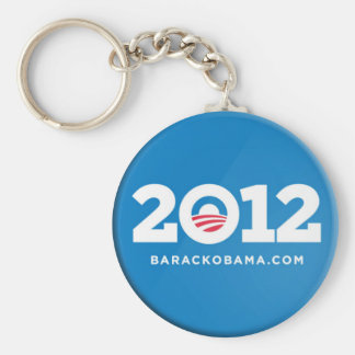 Obama 2012 llavero redondo tipo pin