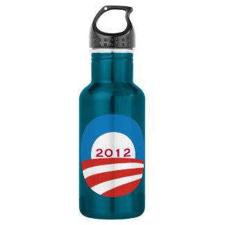 Obama 2012 Logo 18oz Water Bottle