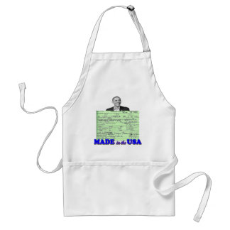 Obama 2012 Made in USA Adult Apron