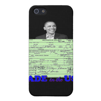 Obama 2012 Made in USA Cover For iPhone SE/5/5s