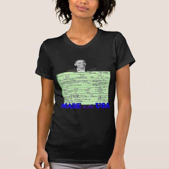 Obama 2012 Made in USA T-Shirt