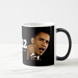 Obama 2012 magic mug