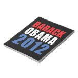 Obama 2012 memo pad