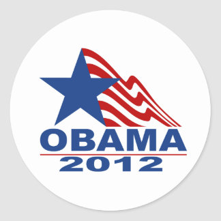 Obama 2012 Merchandise Stickers