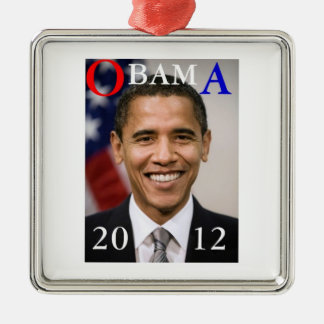 OBAMA 2012 METAL ORNAMENT