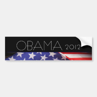 OBAMA 2012 Mod Bumper Sticker