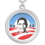 Obama 2012 custom necklace