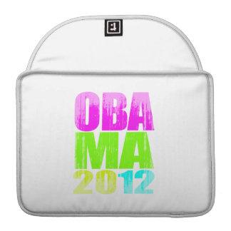 OBAMA 2012 NEON Vintage.png MacBook Pro Sleeves