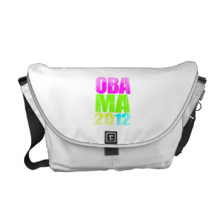 OBAMA 2012 NEON Vintage.png Commuter Bags