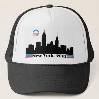 Obama 2012 New York City Skyline Trucker Hat