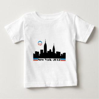 Obama 2012 New York City Skyline T Shirts