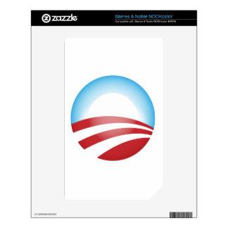 Obama 2012 NOOK color skins